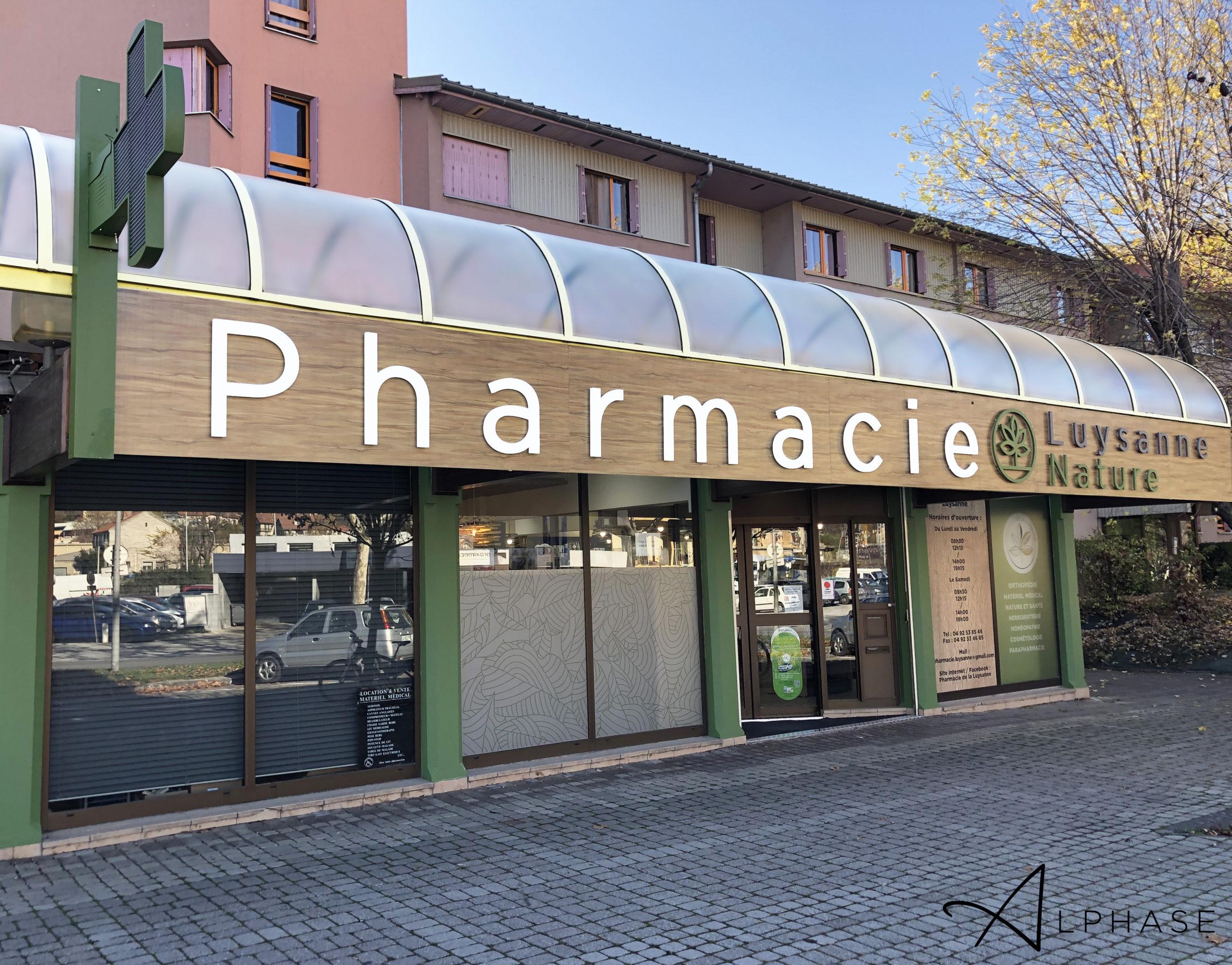 PHARMACIE DE LA LUYSANNE - GAP (05) 9