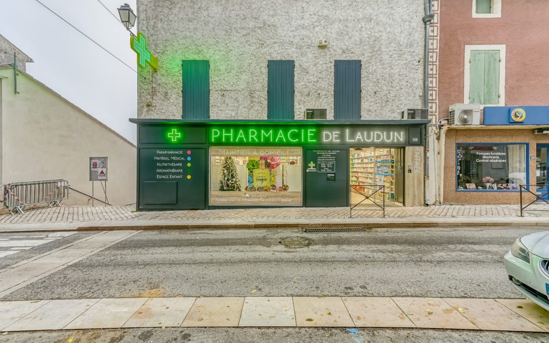 PHARMACIE DE LAUDUN – LAUDUN L'ARDOISE (30)