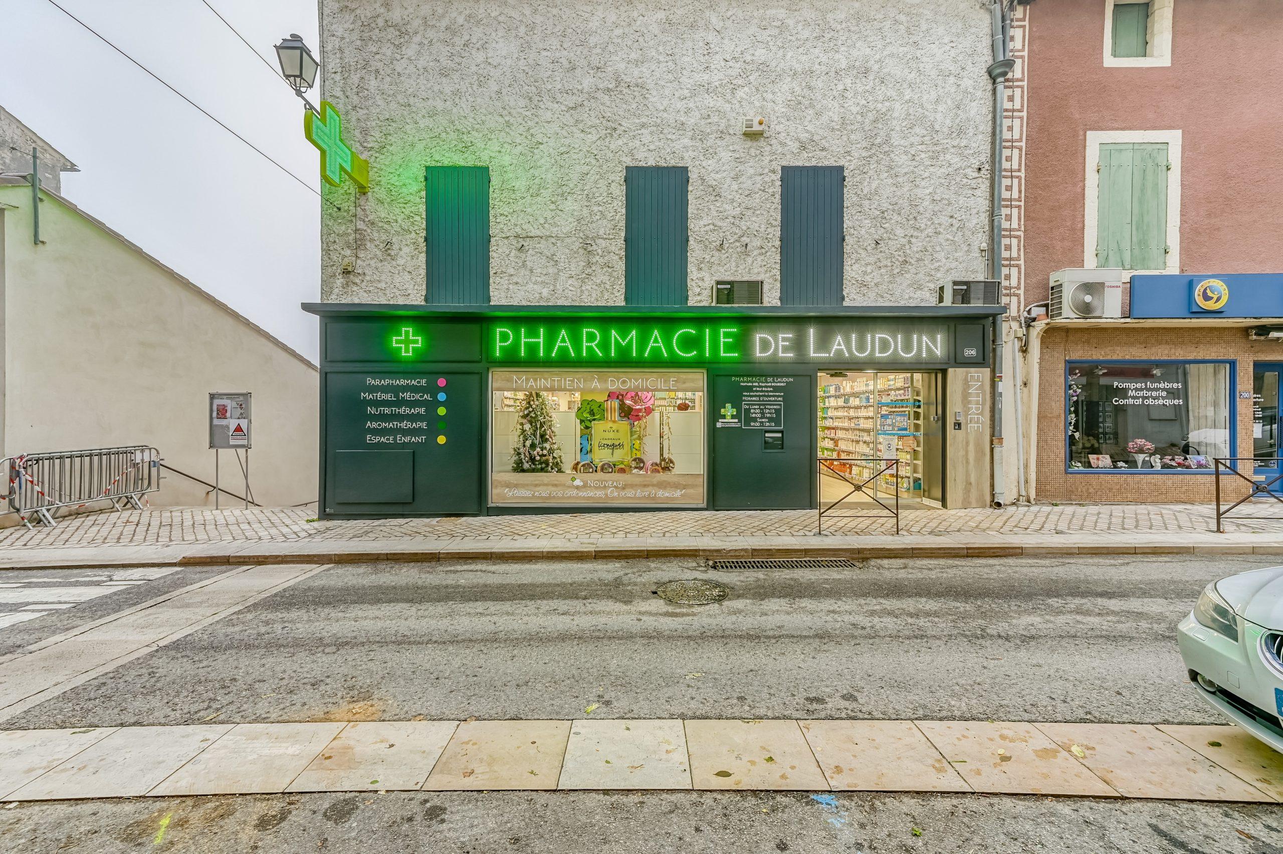 PHARMACIE DE LAUDUN - LAUDUN L'ARDOISE (30) 17